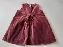 H&M bársony lány ruha