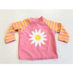 Nutmeg rózsaszín virágos napvédő felső