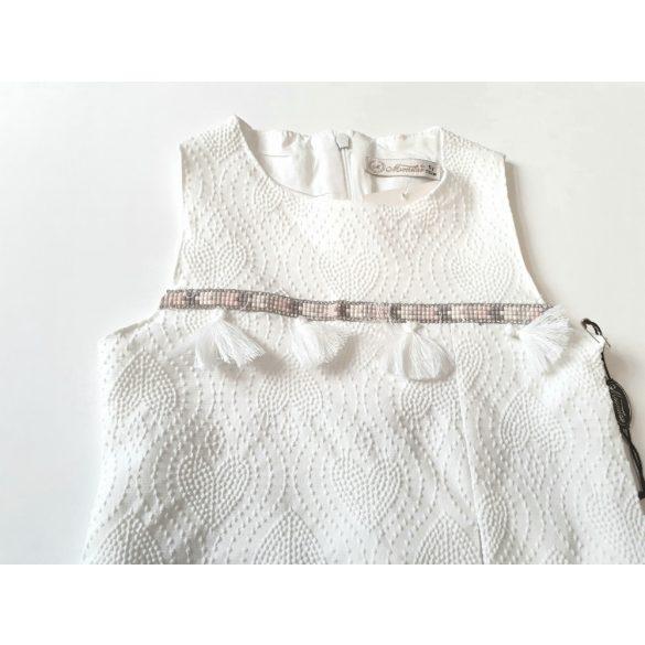 Nyomott mintás alkalmi ruha