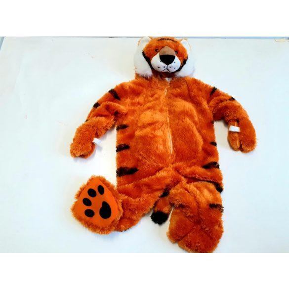 Plüss tigris jelmez