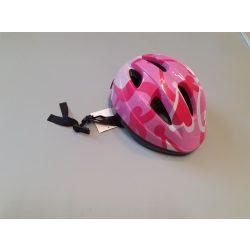 Lány kerékpáros sisak