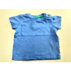 Kék pamut póló