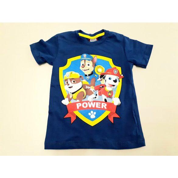 Kék Mancs őrjárat pamut póló
