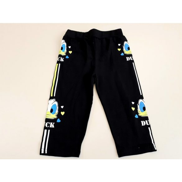 Kék pamut leggings