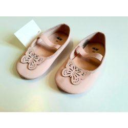 H&M púderszínű topánka