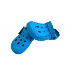 Kék gumi papucs