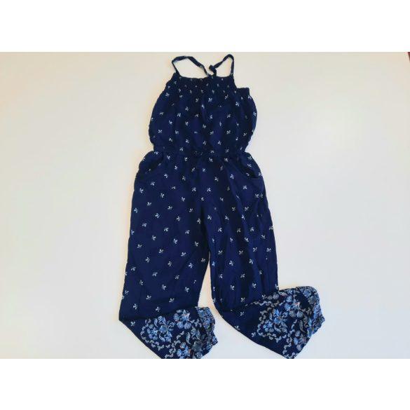 H&M  kék  virágos playsuit
