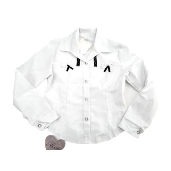 Fehér pamut-vászon ing